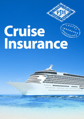 Specialist Travel Insurance for Cruise holidays | P J Hayman