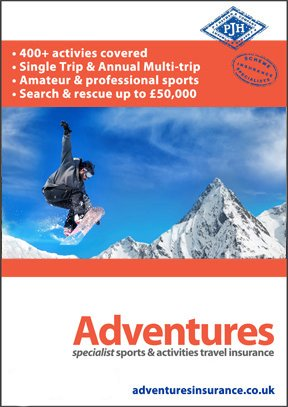 Adventures Winter Sports Themed Brochure