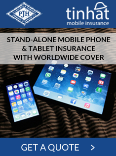 mobile phone & tablet insurance quote button